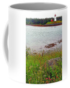 Mulholland Point Lighthouse On  Campobello Island-nb Coffee Mug