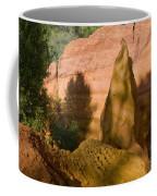 Multi-colored Clay Coffee Mug