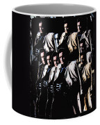 Multiple Johnny Cash In Trench Coat 1 Coffee Mug
