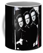 Multiple Johnny Cash Sitting Old Tucson Arizona 1971-2008 Coffee Mug