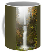 Multnomah Autumn Mist Coffee Mug by Mike  Dawson
