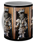 Mummer Man Triptych Coffee Mug