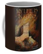 Mummy Cave Ruins II Greeting Card Coffee Mug
