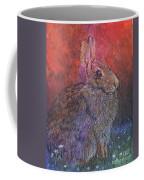 Munching On Clover Coffee Mug by Sari Sauls