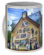 Mural In Beaupre Quebec Coffee Mug