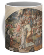 Mural Painting Abbey Fontevraud Coffee Mug