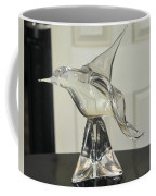 Murano Crystal Bird Coffee Mug