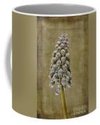 Muscari Armeniacum With Textures Coffee Mug by John Edwards
