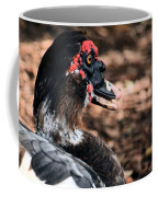 Muscovy Feathers Coffee Mug