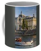 Musee D'orsay Along River Seine Coffee Mug