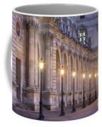Musee Du Louvre Lamps Coffee Mug