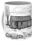 Museum Education Center Coffee Mug by Richard Wambach