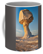 Mushroom Formation In White Desert  Coffee Mug