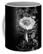 Mushroom In Black And White Coffee Mug