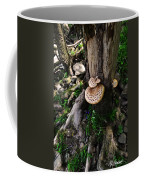 Mushrooms And Flowers Coffee Mug