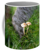 Mushrooms In Grass Coffee Mug