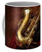 Music - Brass - Saxophone  Coffee Mug