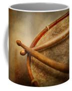 Music - Drum - Cadence  Coffee Mug by Mike Savad