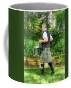 Music - Drummer In Pipe Band Coffee Mug