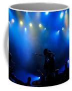 Music In Blue - Montreal Jazz Festival Coffee Mug