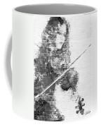 Music In My Soul Black And White Coffee Mug