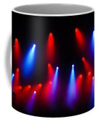 Music In Red And Blue - The Wonderful Sound Of Nightlife Coffee Mug