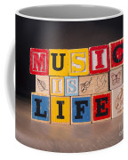 Music Is Life Coffee Mug
