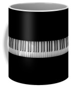 Music Keyboard Coffee Mug
