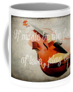 Music Lover Card Coffee Mug