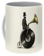 Music Man Coffee Mug by Eric Fan