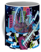 Music On The River Stl Style Coffee Mug