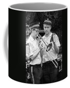 Music - Trombone - A Helping Hand  Coffee Mug by Mike Savad