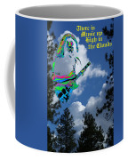 Music Up In The Clouds Coffee Mug