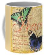 Musical Butterflies 2 Coffee Mug by Debbie DeWitt