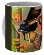 Musical Instruments With Keyboards Coffee Mug