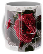 Musical Rose Montage Coffee Mug