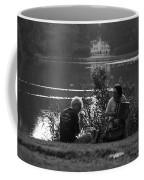 Musicians By The Pond Coffee Mug