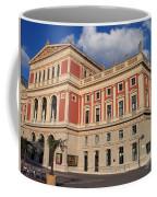 Musikverein Gesellschaft Der Musikfreunde Building Vienna Austria Coffee Mug