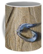 Mussel Shell On The Beach Coffee Mug