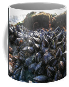 Mussels On A Rock Coffee Mug