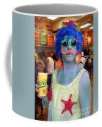 Mustache Merman Coffee Mug