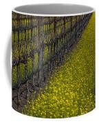 Mustrad Grass In The Vineyards Coffee Mug by Garry Gay