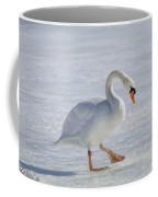 Mute Swan Oil Paint Coffee Mug