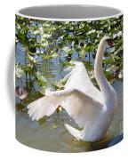 Mute Swan Wings Coffee Mug