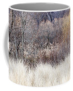 Muted Colors Of Winter Forest Coffee Mug