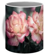 Muted Pink Roses Coffee Mug
