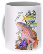 Mutton Snapper Reef Coffee Mug