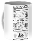 Mutual Funds, 1901 Coffee Mug