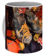 My Battle Scarred Roller Derby Skates  Coffee Mug