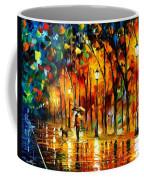 My Best Friend - Palette Knife Oil Painting On Canvas By Leonid Afremov Coffee Mug